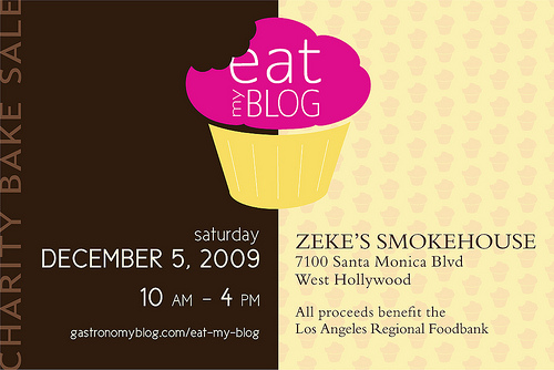 EatMyBlog: A Charity Bake Sale