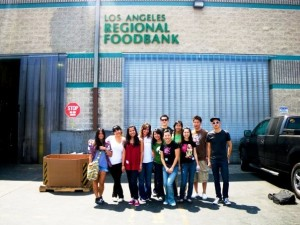 Team B4F LA's Volunteer Launch Event at Los Angeles Regional Food Bank 8/15/2009